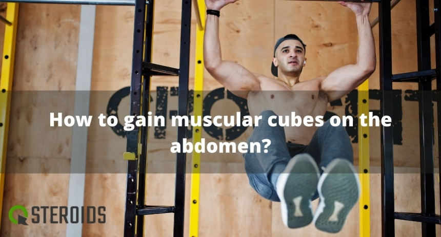 How to gain muscular cubes on the abdomen